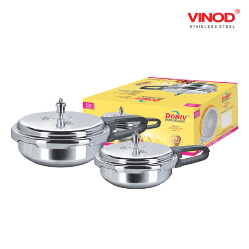 DONIV INDUCTION BASE ALUMINIUM PRESSURE PAN