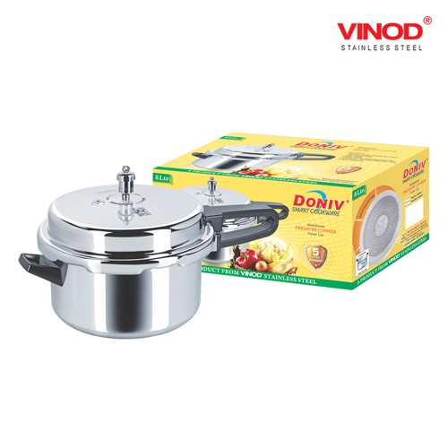 DONIV INDUCTION BASE OUTER LID ALUMINIUM PRESSURE COOKER