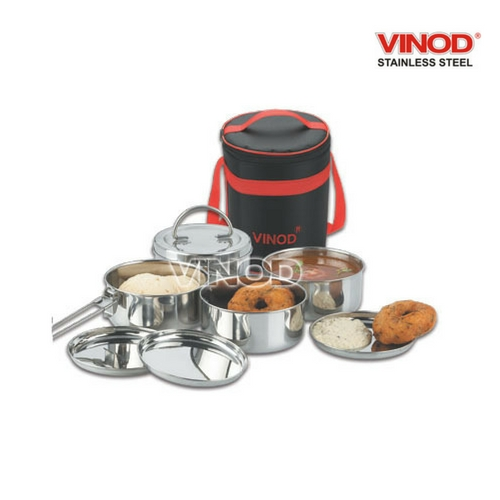 VINOD LUNCH CARRIER with Mega Hot Bag