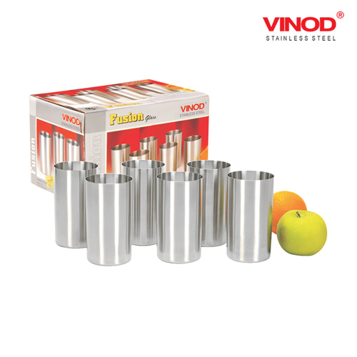 VINOD FUSION GLASS-Six glasses in one box