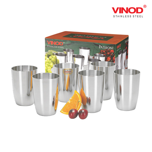 VINOD PASSION GLASS-Six glasses in one box