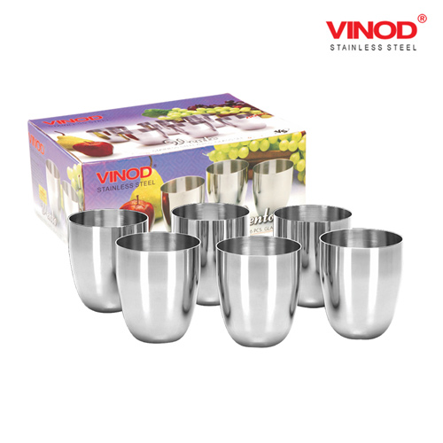 VINOD VENTO GLASS-Six glasses in one box