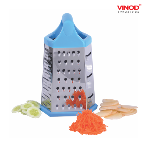 VINOD GRATER - 6 Side with Non Slip Base