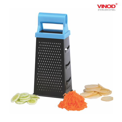 VINOD GRATER - 4 SIDE WITH NON STICK COATING