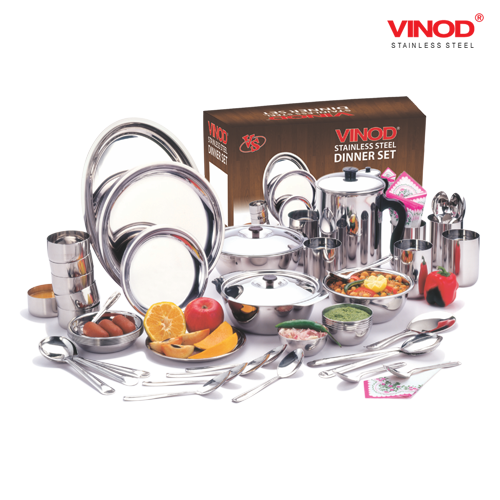 VINOD 51 PIECES DINNER SET FOR SIX PERSON